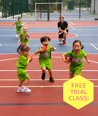 Get your kids moving with a free trial sports class!