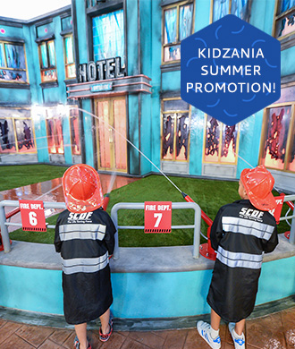 Visit KidZania with a discount walk-in ticket!