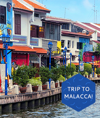 Family travel: Malacca road trip!