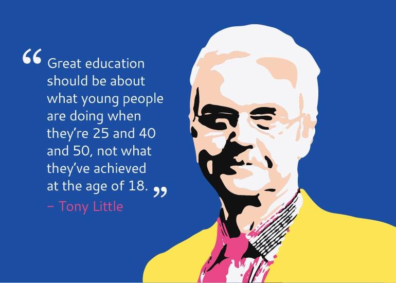 Tony Little former GEMS World Academy Singapore Head Master of Eton interview with HoneyKids Asia