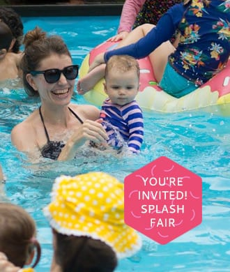 Swish Swimming is throwing a party: come to the Splash Fair!