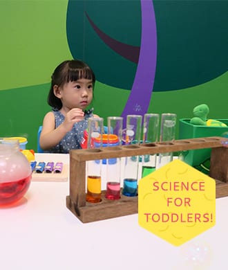 How toddlers can learn about science through play