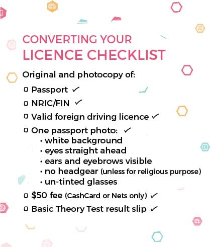 how to get an international driving licence in singapore