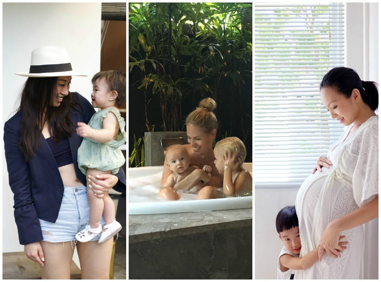 Bella Koh, Kelly Beckwith and Rae Yun love the clever and stylish design of Hegen containers, which are so handy even after bottle feeding!