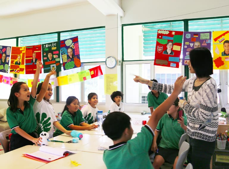 Language lessons are lively, encouraging kids to speak in their mother tongue out of home and stretch their abilities!