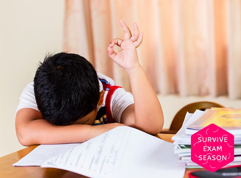 Remember the struggle with school exams? Here's how we can help our own little ones cope.