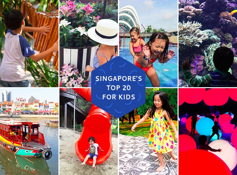 top 20 things to do with kids in Singapore