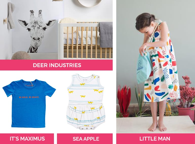 Stock up on cool kids' clothing, decor and more at Boutiques.