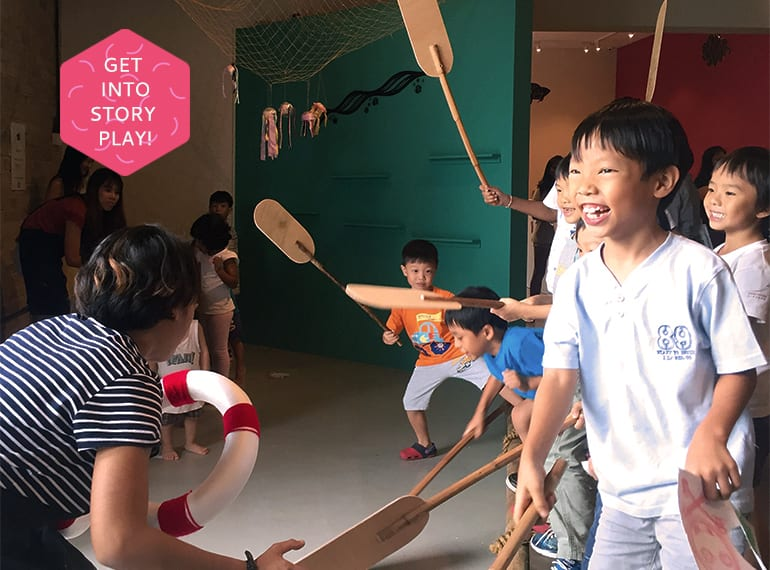 Playeum's new exhibit A World Full of Stories HoneyKids Asia
