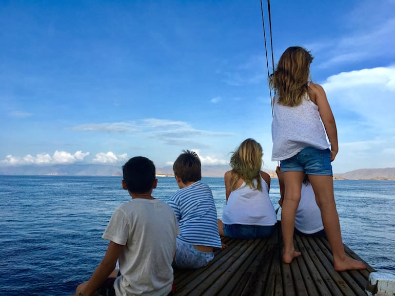 Family travel in Indonesia - Flores Islands HoneyKids Asia
