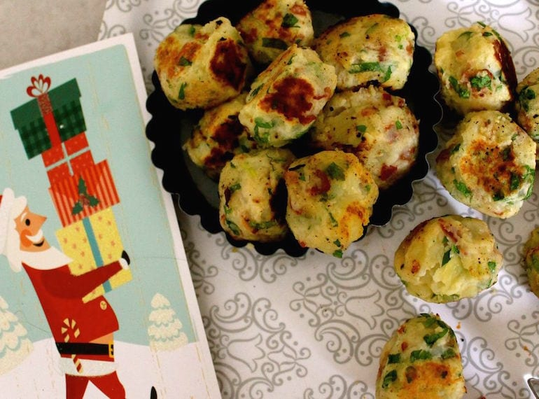 Kid friendly Christmas recipes potato parsley and pancetta croquettes by Modern Family Food HoneyKids Asia