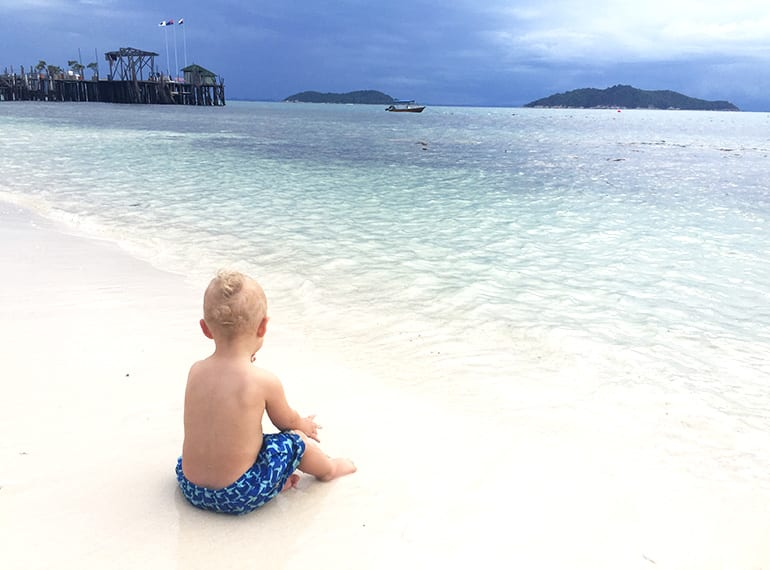 Rawa Island with kids
