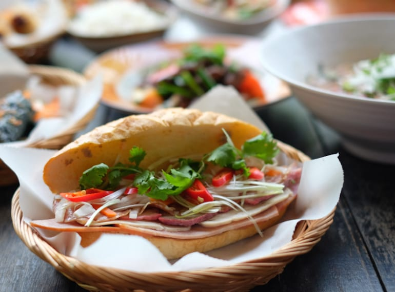 Nip to Vietnam during your lunch break with a visit to Saigon Alley