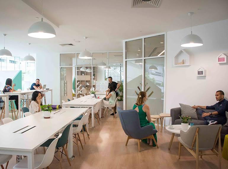 co-working spaces in Singapore