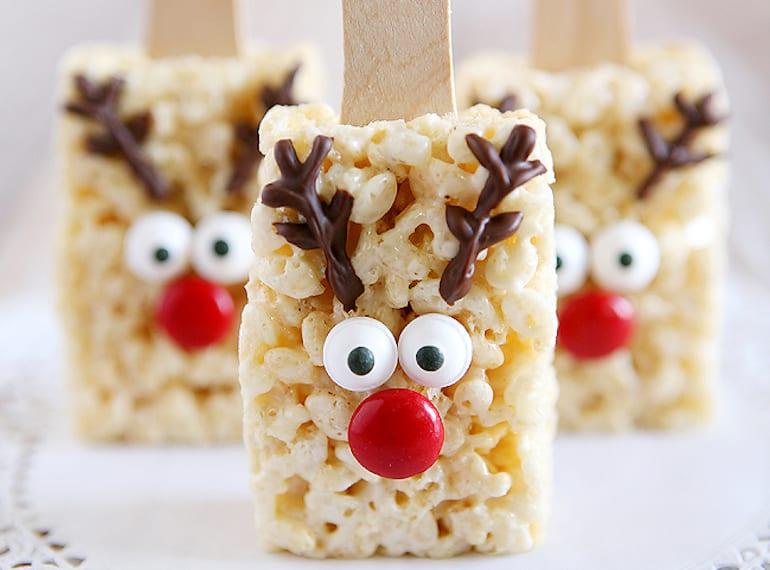 snacks for kids at Christmas