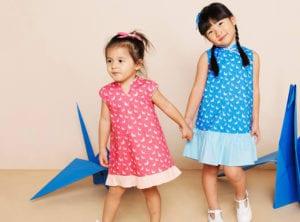 Cheongsams and Mandarin-collars for kids HERO