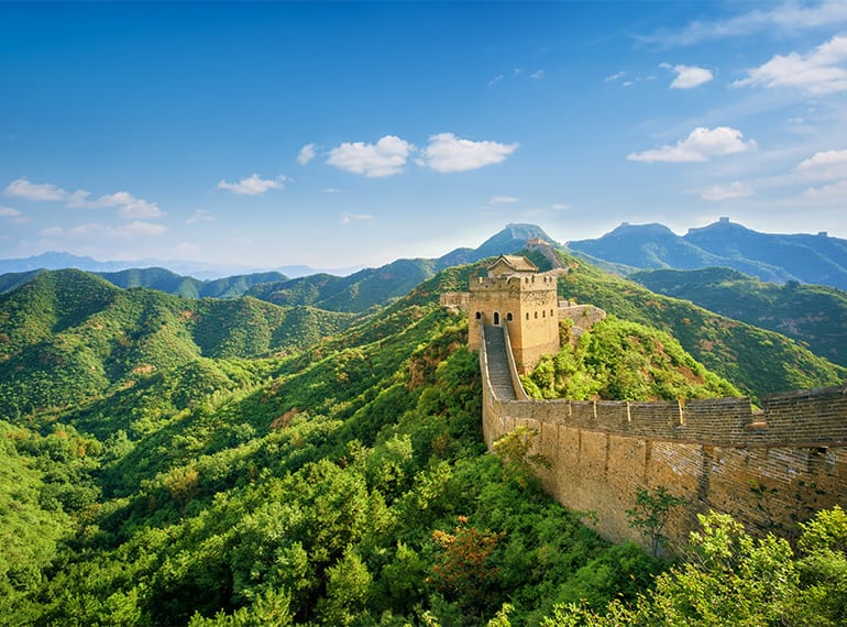 The Great Wall of China is a must for adventurous families up for a challenge!