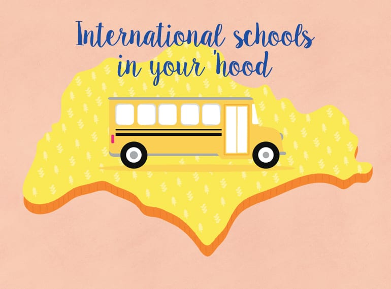 Guide to international schools in Singapore by location HoneyKids Asia