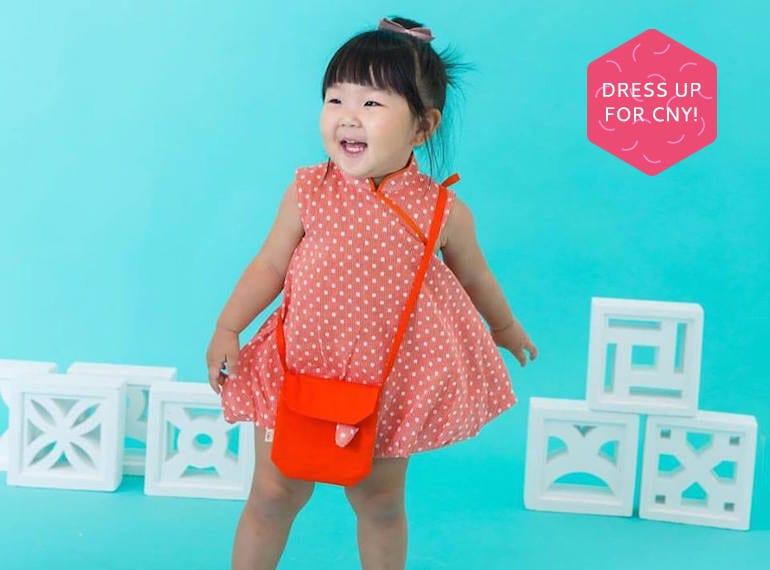 Chubby Chubby CNY outfits HoneyKids Asia