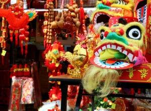 HoneyKids Chinatown Lion head
