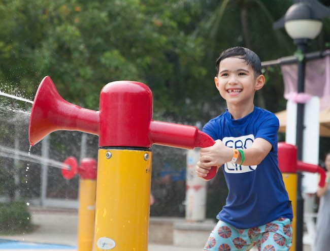 Port of Lost Wonder's water play area is now known as Palawan Pirate Ship HoneyKids Asia