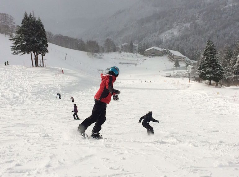 Spend Christmas in a snowy wonderland in Hokkaido, Japan. Photo credit: Helen Hillier