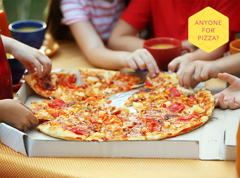 Pizza for kids in Singapore