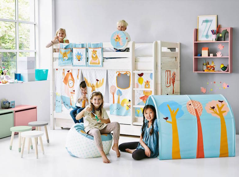 Furniture that will grow with your kids FLEXA