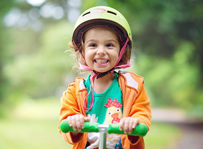 Places places in Singapore to go scooting with children HoneyKids Asia