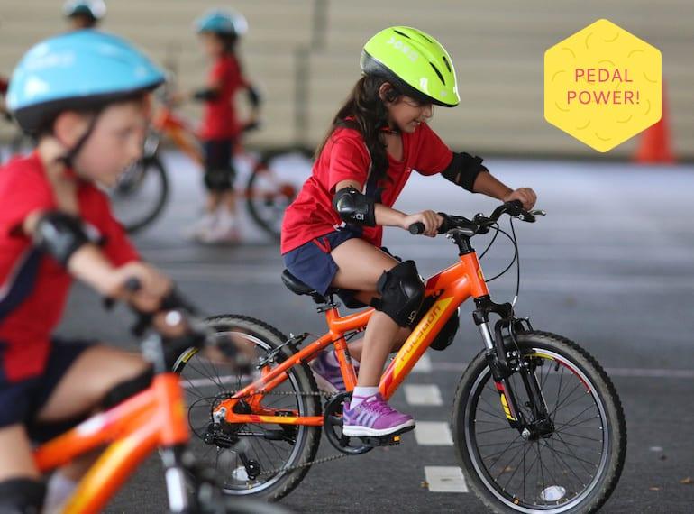 Tanglin Trust School Pedal Power Program Honey Kids Asia