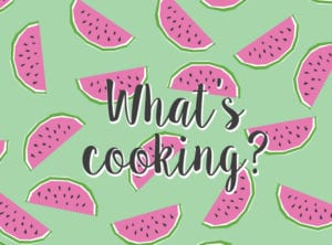 What's cooking? Printable menu planner HoneyKids Asia