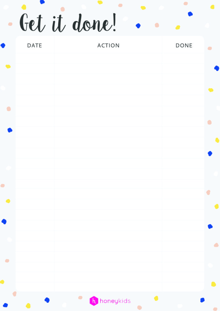 graphic relating to Honey Do List Printable identified as How toward choose organised: down load our free of charge printable toward-do