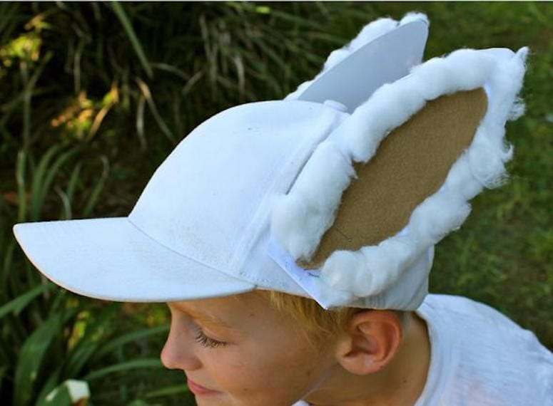 DIY easter hats for kids