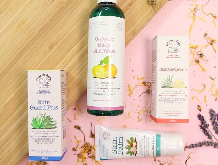 Cherub rub natural organic skincare for babies HoneyKids Asia