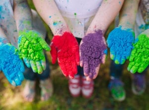 Holi festival events for kids and families HoneyKids Asia