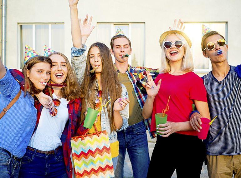 Parties for Teens Honeykids Asia Singapore