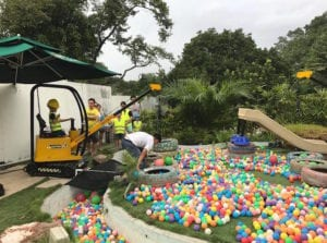 kids adventure play ground in Singapore