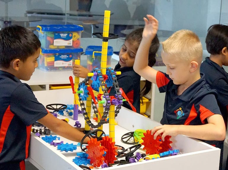 STEM learning at GEMS World Academy Singapore HoneyKids Asia