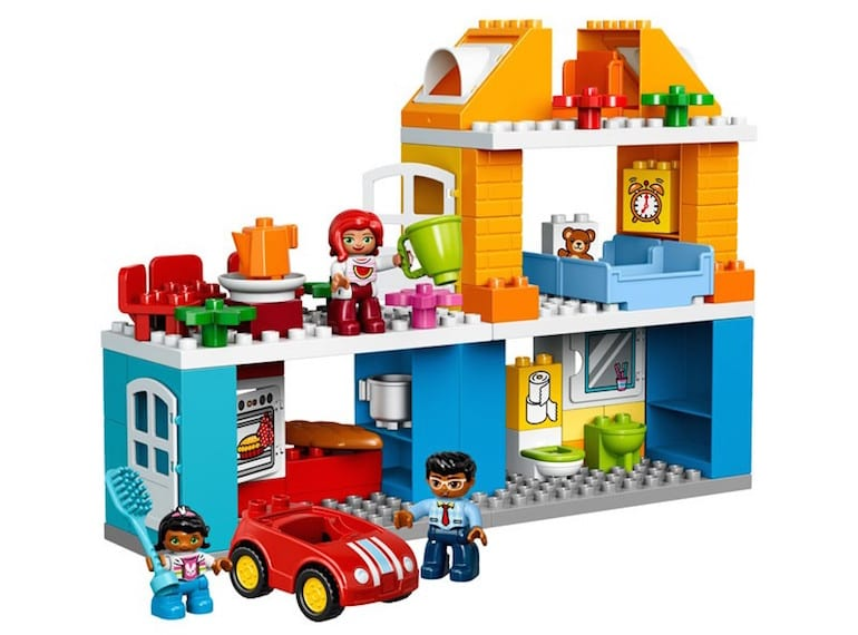 Lego's Duplo dollhouse