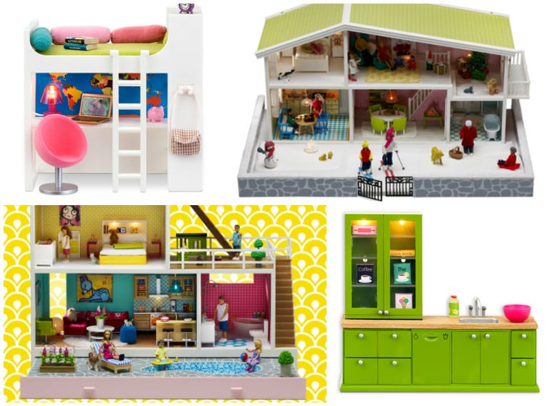 Swedish Lundby doll's houses