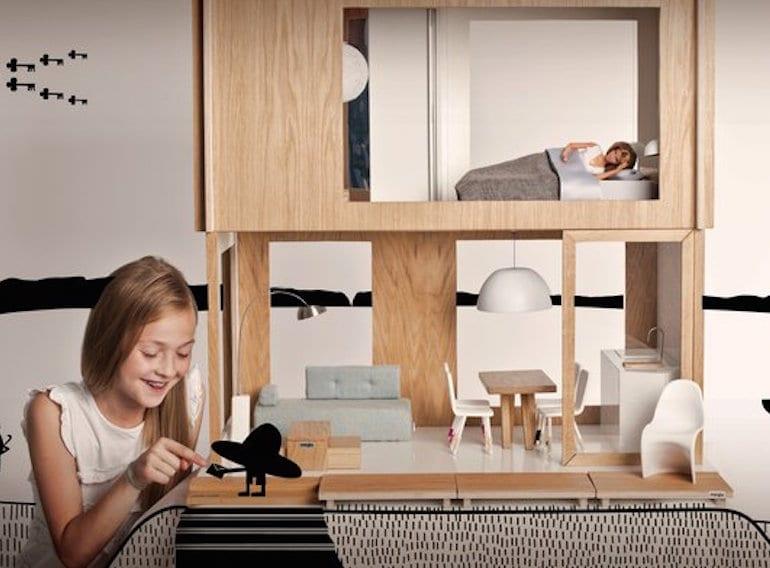 Modern Dolls House by Miniio