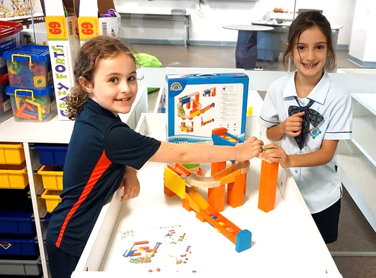 Students at GEMS love the hands-on activities they take on in the STEMS room.