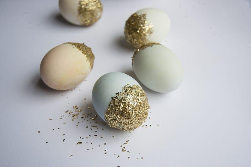 Easter craft for kids Singapore Ladyland glitter easter eggs HoneyKids Asia