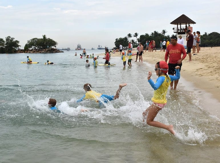 surf life saving for kids in Singapore