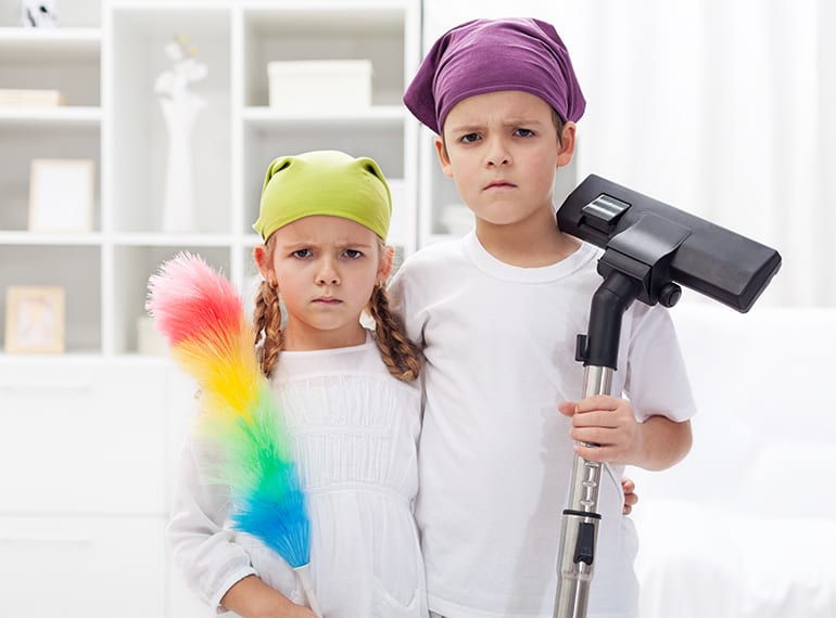 chores for kids in Singapore life skills