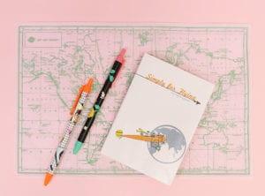 Simply for Flying flight logbook family travel HoneyKids Asia