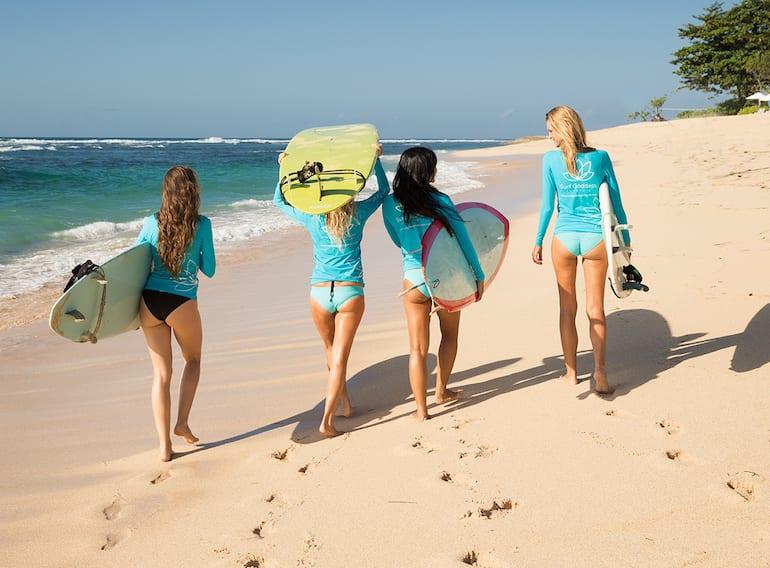 Surf Goddess Bali yoga spa holiday for women HoneyKids Asia