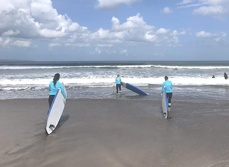 Bali Surf Goddess retreat HoneyKids Asia