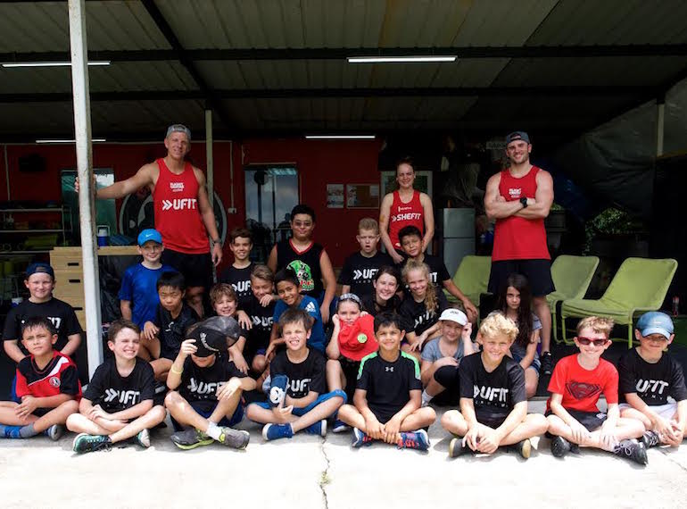 UFIT athlete summer camp for sporty kids in Singapore