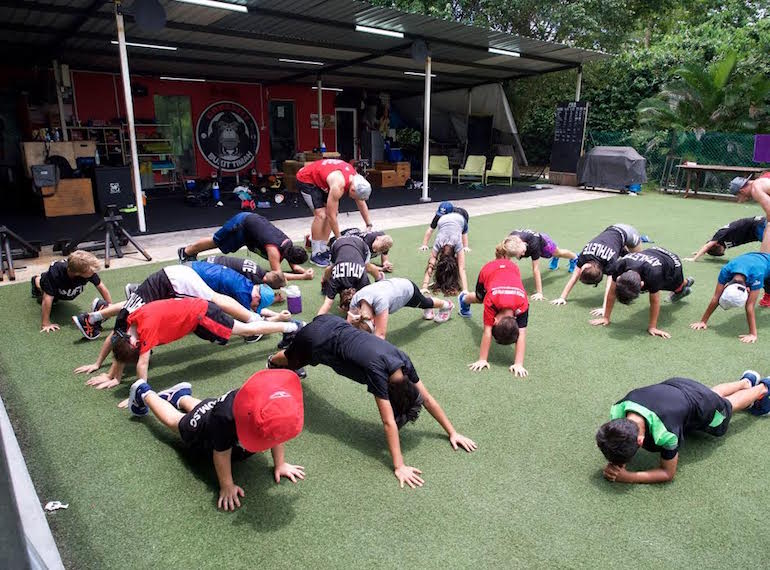 UFIT Athletes camp for sporty kids in Singapore